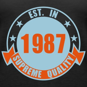 1987 Supreme Tops - Frauen Premium Tank Top