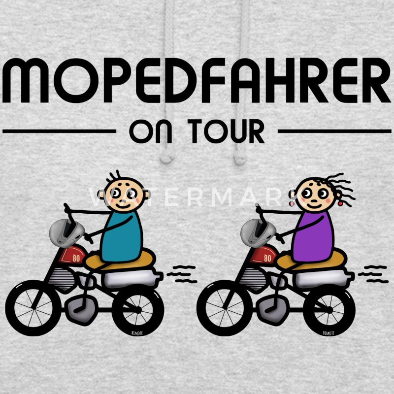 Mopedfahrer on Tour Pullover & Hoodies - Unisex Hoodie