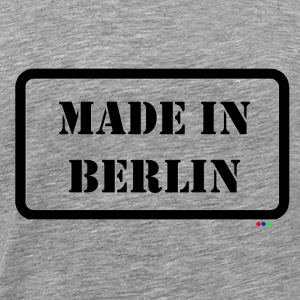 Made in Berlin Funmotiv T-Shirts - Männer Premium T-Shirt