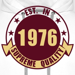1976 Supreme Sweat-shirts - Sweat-shirt à capuche Premium pour hommes