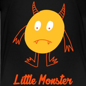 Little Monster / Baby / Bébé / Humor / Halloween Skjorter - Premium T-skjorte for tenåringer