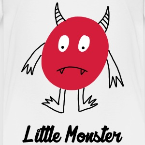 Little Monster / Baby / Bébé / Humor / Halloween Tee shirts - T-shirt Premium Enfant