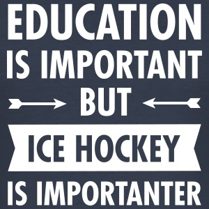 Education - Ice Hockey T-Shirts - Männer Slim Fit T-Shirt
