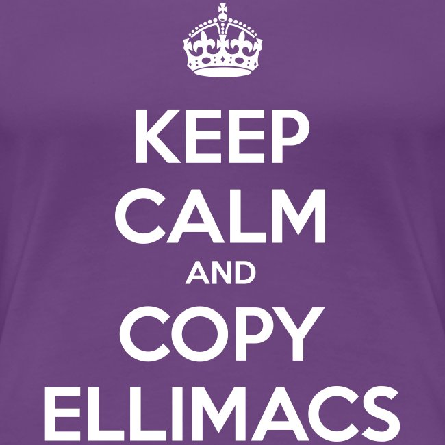 Keep calm and copy ellimacs