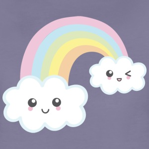 Rainbow Kawaii - Frauen Premium T-Shirt
