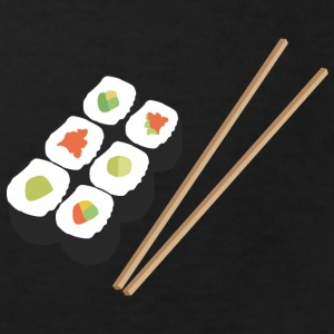 Sushi rolls with chopsticks Shirts - Kids' Organic T-shirt