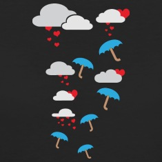 Umbrellas with heart T-Shirts