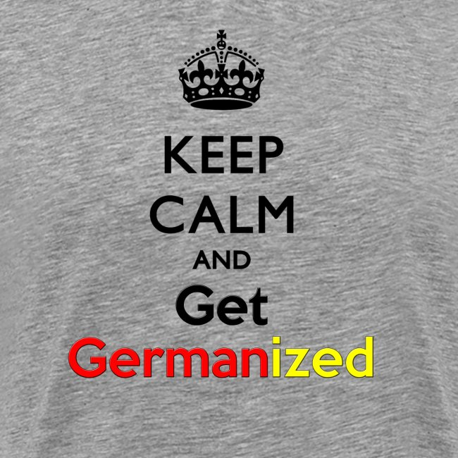 Keep Germanized Shirt Men Grey