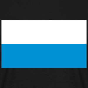 Flag of Bavaria, Germany T-Shirts - Men's T-Shirt
