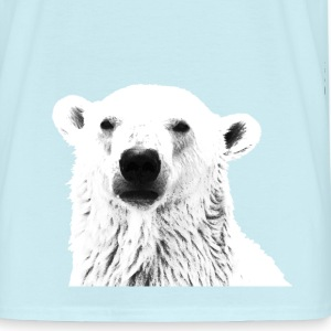 Polar Bear Peeking - Men's T-Shirt