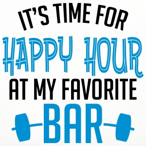 it's time for happy hour at my favorite bar B 2c Tazas y accesorios - Posavasos (juego de 4)