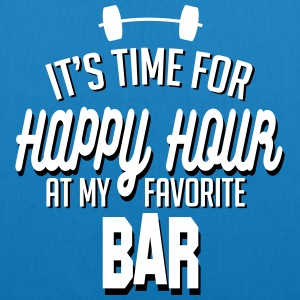 it's time for happy hour at my favorite bar C 2c Borse & zaini - Borsa ecologica in tessuto