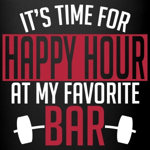 it's time for happy hour at my favorite bar A 2c Krus & tilbehør - Ensfarvet krus