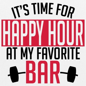 it's time for happy hour at my favorite bar A 2c Bolsas y mochilas - Bolsa de tela ecológica