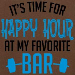 it's time for happy hour at my favorite bar B 2c Tassen & rugzakken - Schoudertas