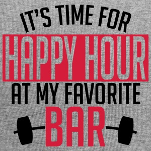 it's time for happy hour at my favorite bar A 2c Caps & luer - Jersey-beanie