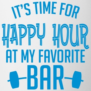 it's time for happy hour at my favorite bar B 1c Tazas y accesorios - Taza