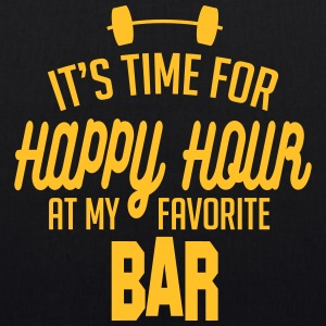 it's time for happy hour at my favorite bar C 1c Borse & zaini - Borsa ecologica in tessuto