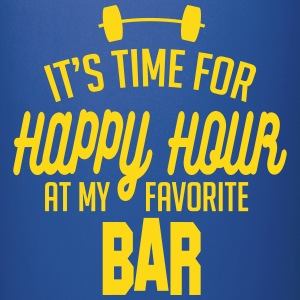 it's time for happy hour at my favorite bar C 1c Tazas y accesorios - Taza de un color