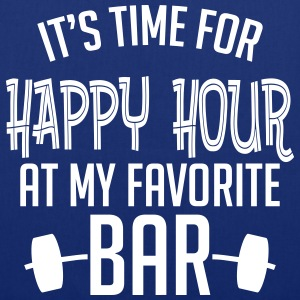 it's time for happy hour at my favorite bar B 1c Sacs et sacs à dos - Tote Bag