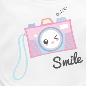 Camera Kawaii - Baby Bio-Lätzchen