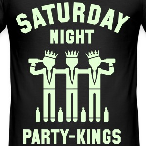 Saturday Night Party-Kings T-Shirts - Men's Slim Fit T-Shirt