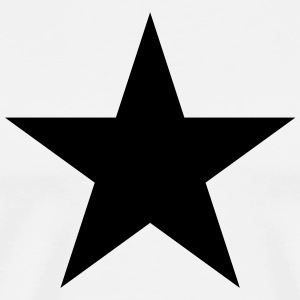 Black star, music, rock, five, heroes, space, best Tee shirts - T-shirt Premium Homme