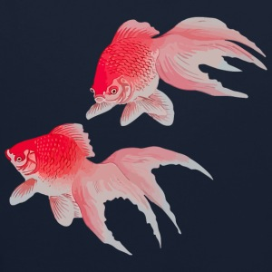 Japanese Gold Fishes 2 Hoodies & Sweatshirts - Contrast Colour Hoodie
