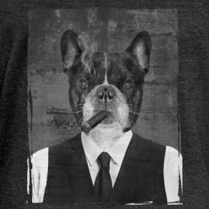 Bouledogue au cigare Sweat-shirts - Pull Femme col bateau de Bella
