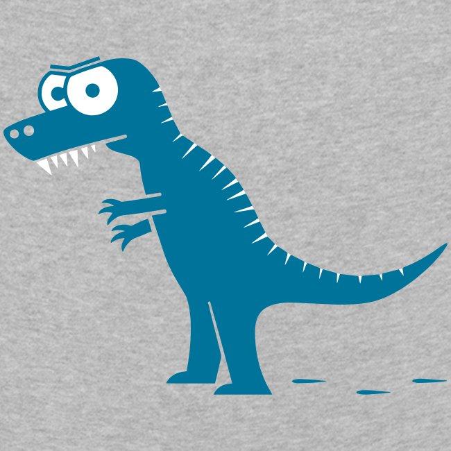 T-Rex mit bösen Zähnen, Dino, Drachen Langarmshirts