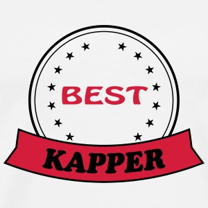 Best kapper T-shirts - Herre premium T-shirt