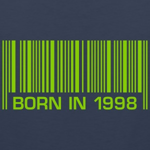 born in 1998 18th birthday 18. Geburtstag barcode - Männer Premium Tank Top