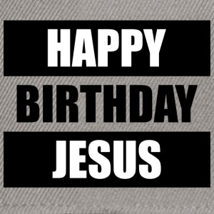 Happy Birthday Jesus Caps & Mützen - Snapback Cap