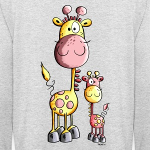 Drôle Girafe  Sweat-shirts - Sweat-shirt à capuche unisexe