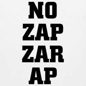 No zapzarap Tank Tops - Men's Premium Tank Top