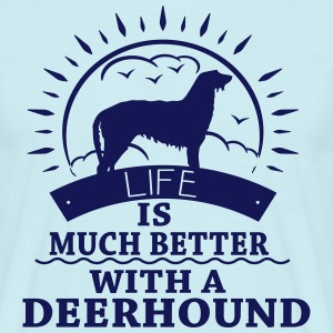 Deerhound T-Shirts - Men's T-Shirt
