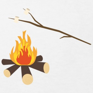 Campfire with marshmallows Shirts - Kids' Organic T-shirt