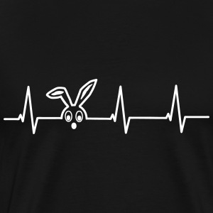 Heartbeat of a hare T-Shirts - Men's Premium T-Shirt