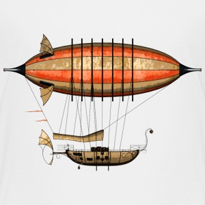 Vintage Steampunk Airship Teenager's Premium T-Shi - Teenager Premium T-Shirt