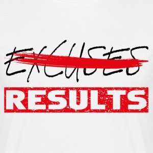 results black red T-Shirts - Men's T-Shirt