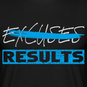 results white blue T-Shirts - Männer T-Shirt
