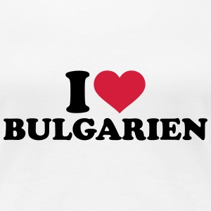 I love Bulgarien T-Shirts - Frauen Premium T-Shirt
