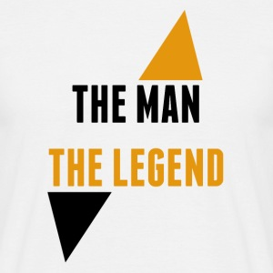 The man The legend l'homme la legende Tee shirts - T-shirt Homme