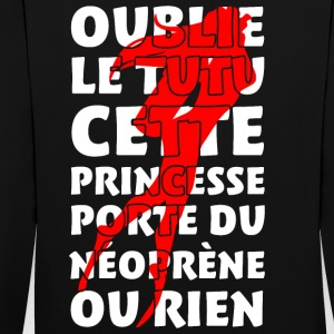 Princesse plongeuse Sweat-shirts - Sweat-shirt contraste