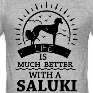 SALUKI T-Shirts - Men's Slim Fit T-Shirt