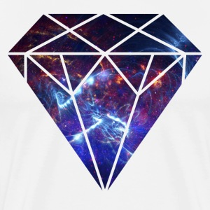 Space Diamond Nebula - Men's Premium T-Shirt