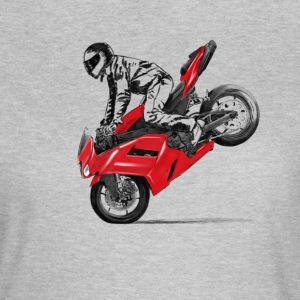 motorcycle stunt Tee shirts - T-shirt Femme
