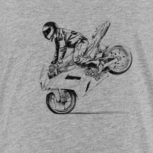 motorcycle stunt T-shirts - Teenager premium T-shirt