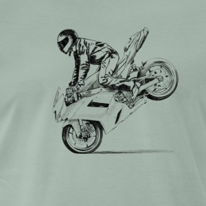 motorcycle stunt Tee shirts - T-shirt Premium Homme