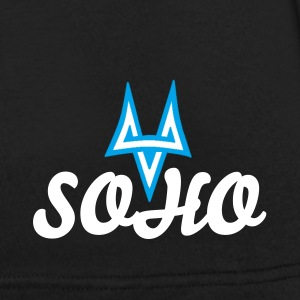 SOHO - Men's shirt with white text - Men's V-Neck T-Shirt